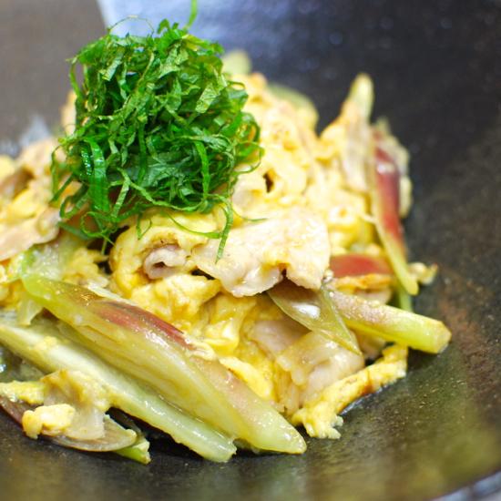豚肉の香味卵炒め5-550