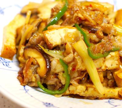 厚揚げと豚肉の辛み炒め8 (1)-400