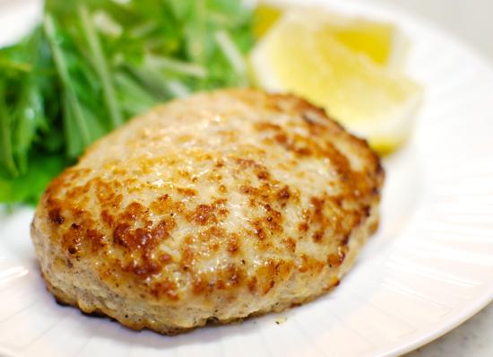 鶏ひき肉と豆腐のハンバーグ7-550
