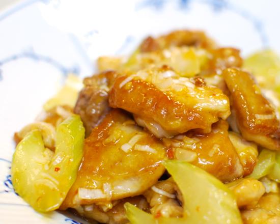 鶏とセロリの炒めもの10-550