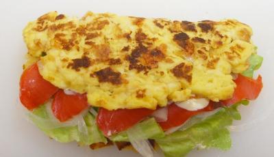 塩フレンチトーストのサーモンサンド9