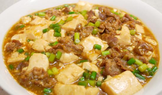 豆腐と豚肉の煮込み
