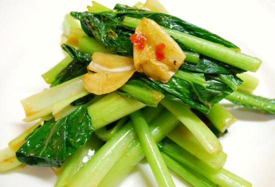 青菜の腐乳炒め