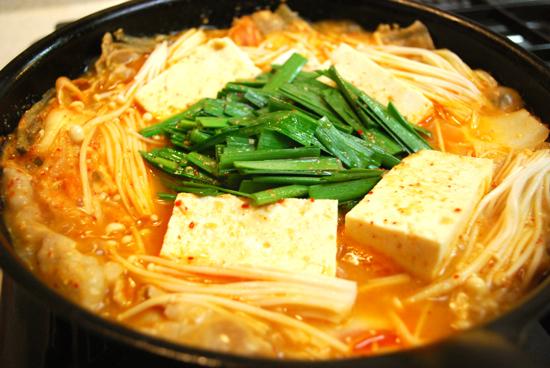 定番調味料キムチ鍋