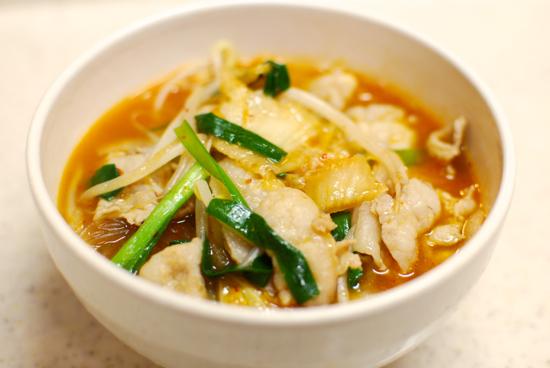 豚肉と春雨のキムチスープ煮8-550
