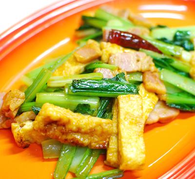 小松菜と京あげのカレー炒め8 (1)-400