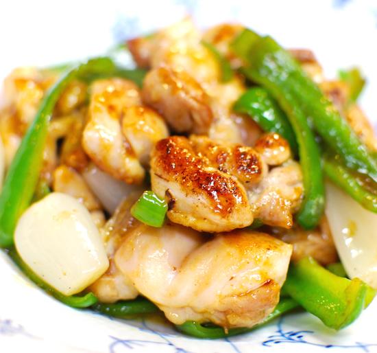 鶏肉と甘酢らっきょうの炒めもの6 (1)-550