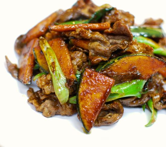 牛肉の味噌炒め8-550