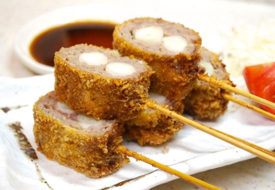 ひき肉の串揚げ11-550