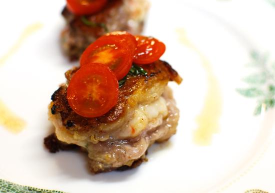 豚フィレと海老のはさみ焼き6-550