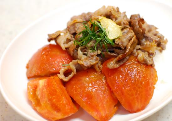 トマト牛丼6-550
