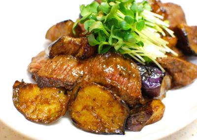 牛肉となすの鍋しぎ9-400
