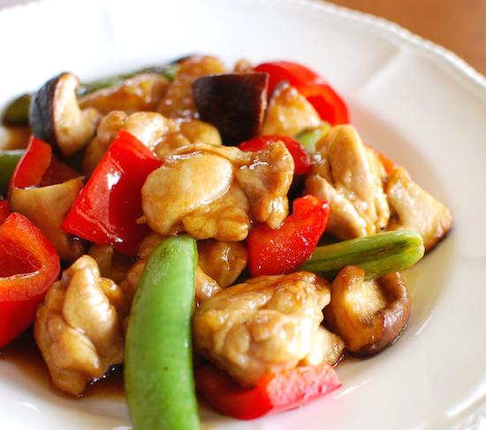 鶏肉と野菜の黒酢炒め6 (1)-550