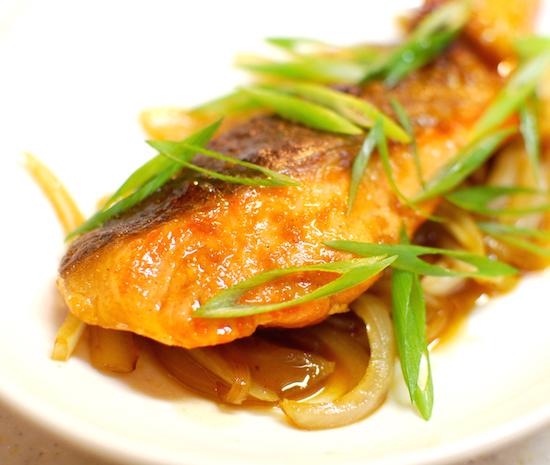 鮭のしょうが焼き6 (1)-550