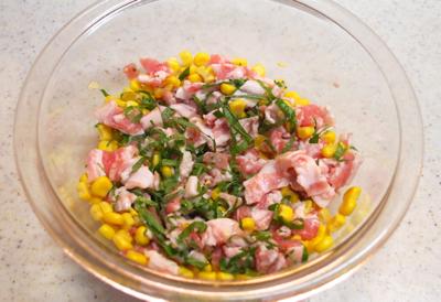 豚肉のコーン焼き4-400