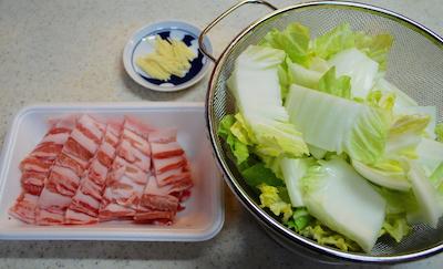 豚肉と白菜、葛きりの重ね蒸し1 (1)-400