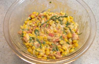 豚肉のコーン焼き6-400