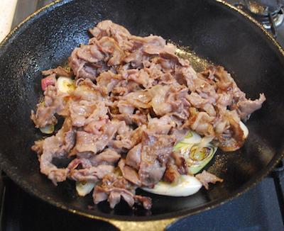牛肉とねぎの炒めもの わさび風味5 (1)-400