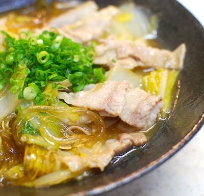 豚肉と白菜、葛きりの重ね蒸し5 (1)-400