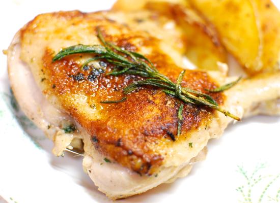 鶏肉のフライパンロースト7-550