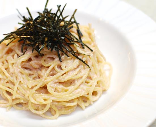 明太クリームスパゲッティ7-550