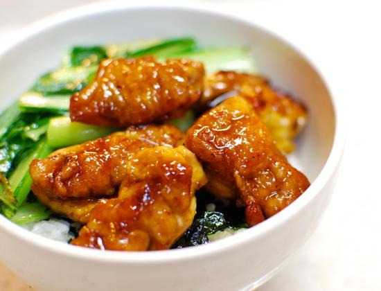 鶏の照り焼き丼10-550