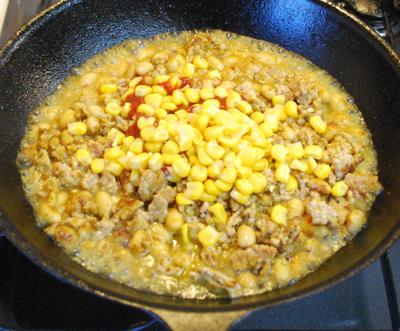 大豆とひき肉のカレー5-400