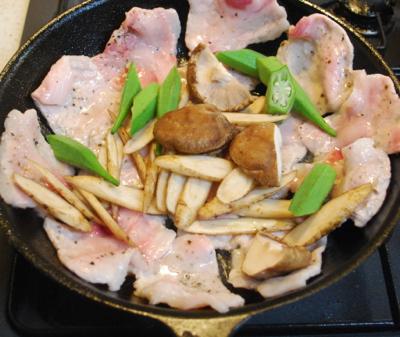 豚肉の味噌しょうが焼き5-400