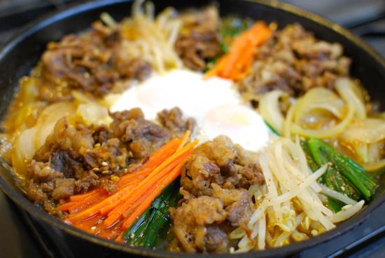 韓国風すき焼き8-550