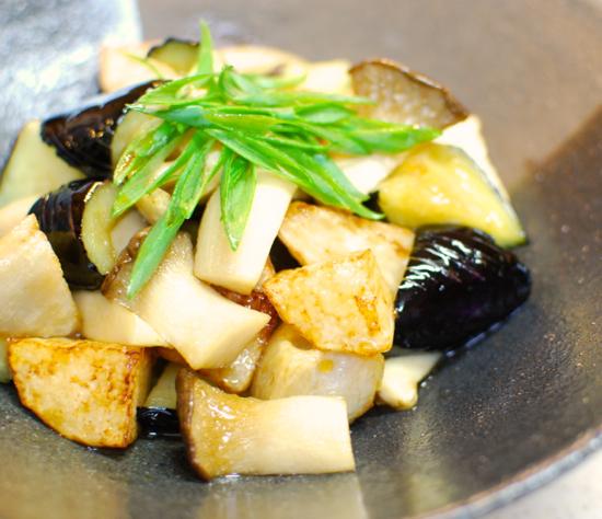 揚げ野菜のポン酢和え6-550