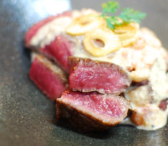 ステーキのトマトグレービーソース7-550