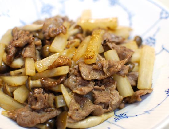 牛肉と大根の炒め煮6-550
