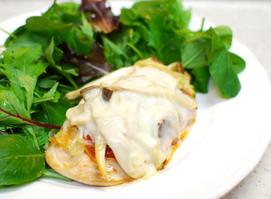 鶏のチーズ焼き8-550