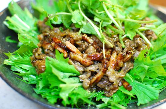 牛肉のつけ焼きサラダ6-550