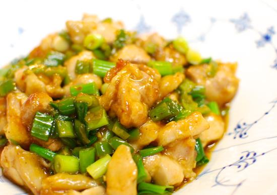 鶏の酸辣炒め11-550