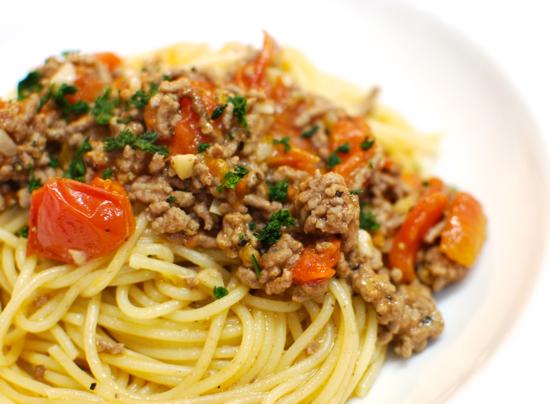 トマト・ミートスパゲティ8-550