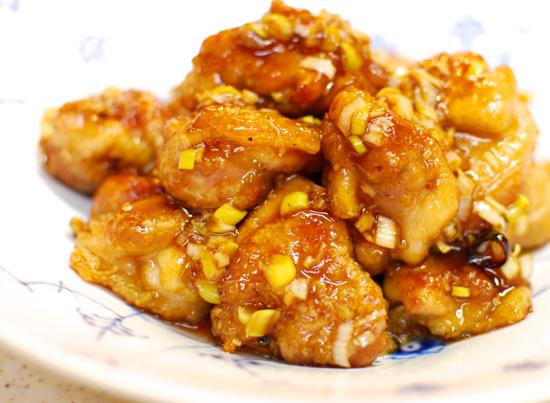 鶏の甘酢がらめ10-550