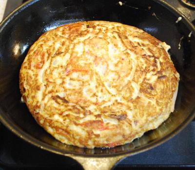 かにと卵の煎り煮11-400