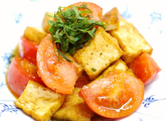 厚揚げトマト炒め7-550